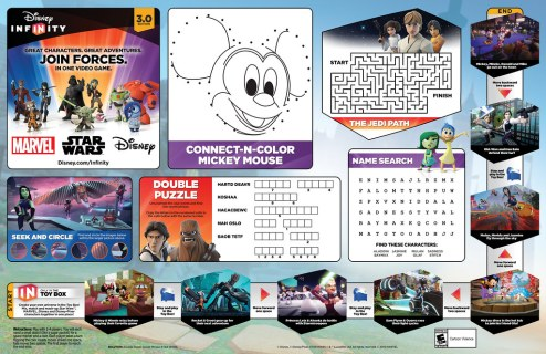 Disney Infinity 3.0 Edition | Disney Parks Placemat