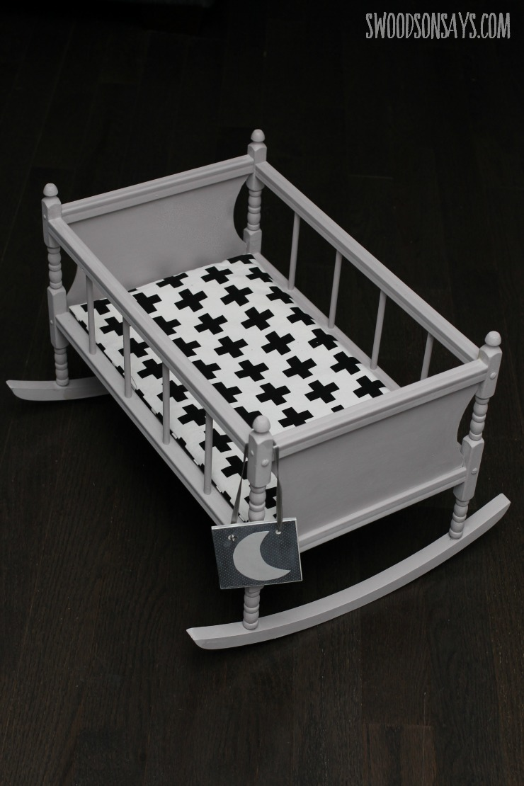 modern baby doll crib