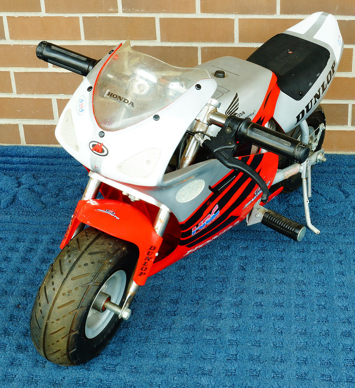 Honda Minimoto Electric Pocket Bike