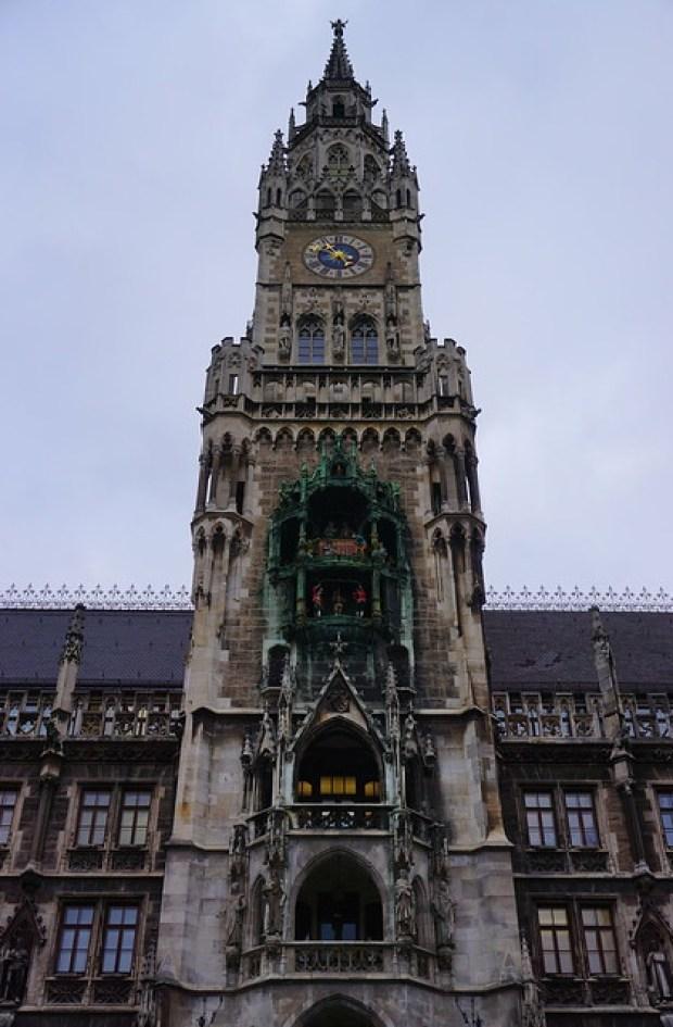 Munich - Neues Rathaus tower