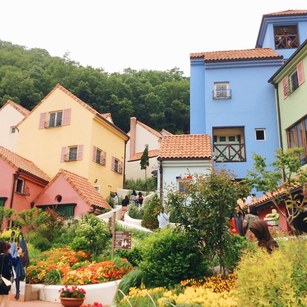 Colorful houses of Petite France