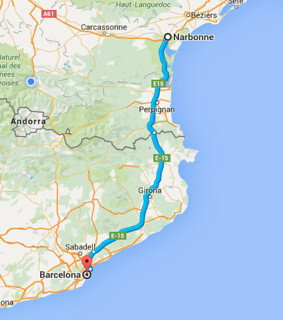 Barcelona…a side trip on the road trip