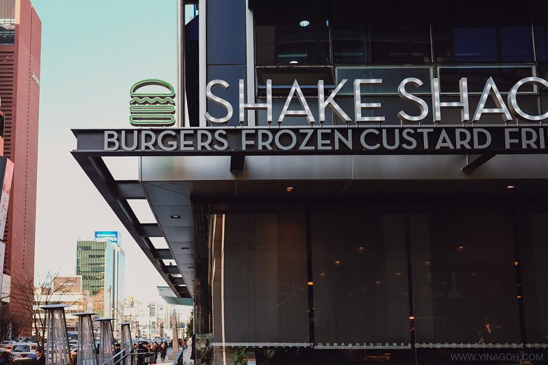 Shake Shack Gangnam Seoul Korea