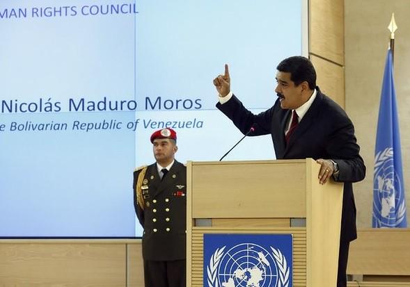 """Se queja Maduro ante ONU de """"acoso permanente"""" contra Venezuela"""