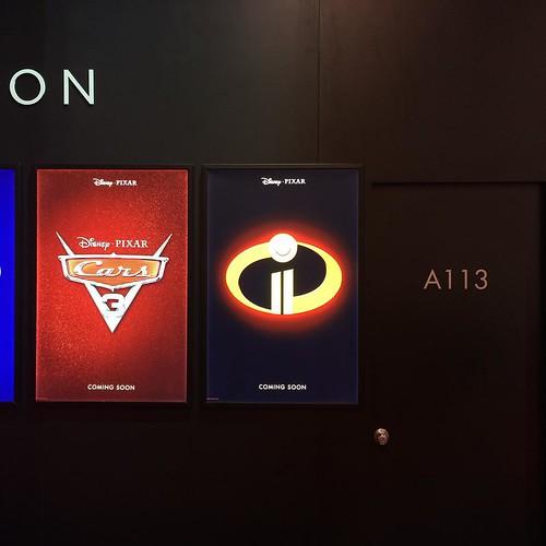 で、カーズ3、The Incredibles2はともに未定です。
