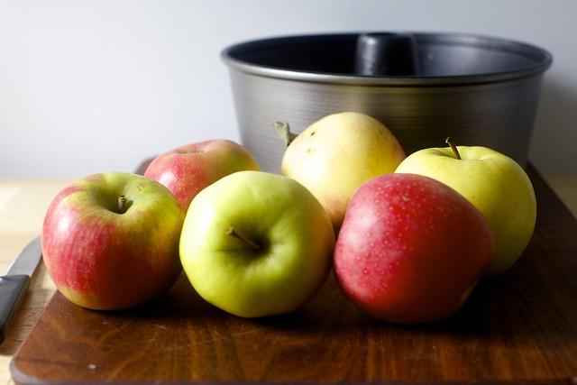 six apples, any kind you like