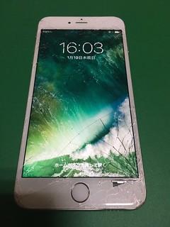 245_iPhone6Plusのフロントパネルガラス割れ