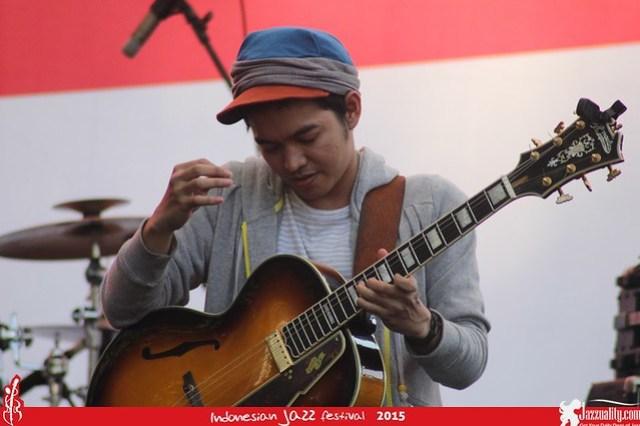Indonesian Jazz Festival 2015 - Tesla Manaf(2)