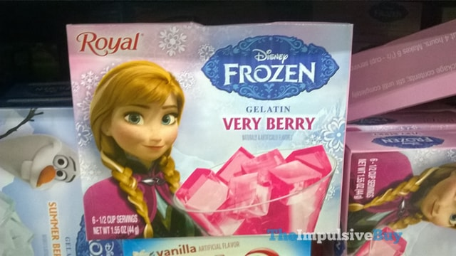 Royal Disney Frozen Very Berry Gelatin