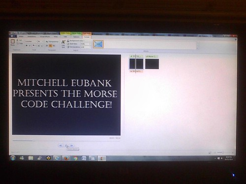 Morse Code Challenge 4