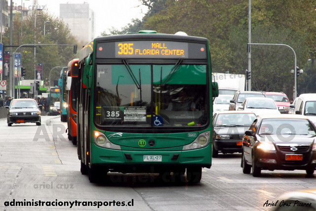 Transantiago - Buses Vule - Caio Mondego H / Mercedes Benz (FLXL27) (1647)