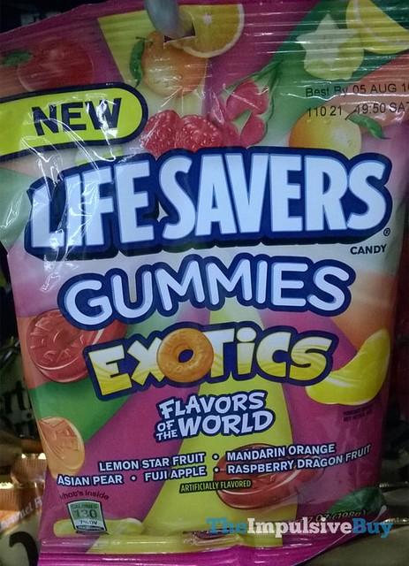Life Savers Gummies Exotics Flavors of the World