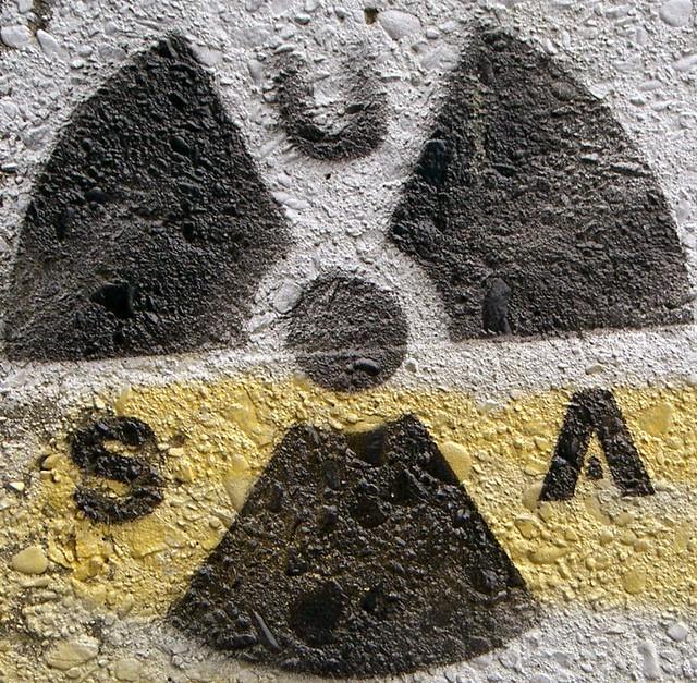 USA nuclear (weapons) graffiti -