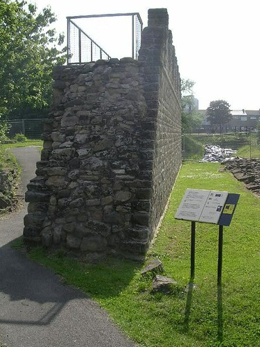 The reconstructed curtain wall