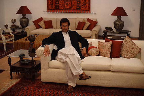 Imran Khan at home in Islamabad Pakistan  Flickr  Photo