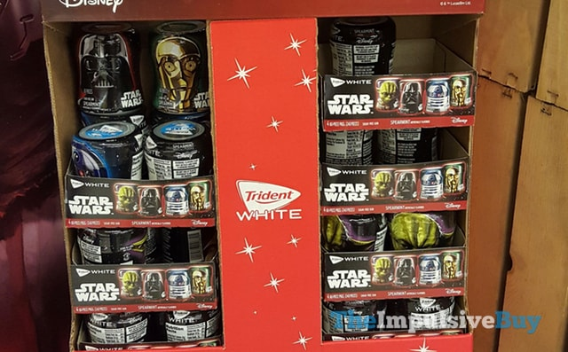 Trident White Star Wars Spearmint Gum