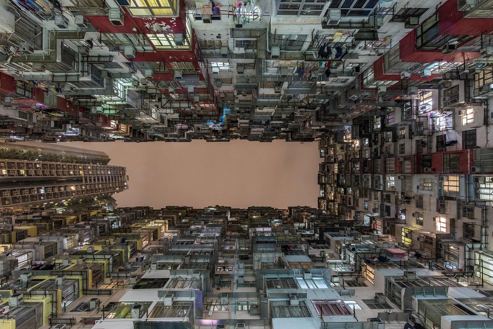 Looking up, Hong Kong