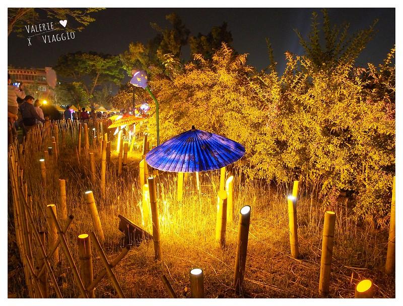 【屏東 Pingtung】2017屏東綵燈節萬年溪藝術裝置燈 LOVE與藍白玫瑰花燈海 - 輕旅行