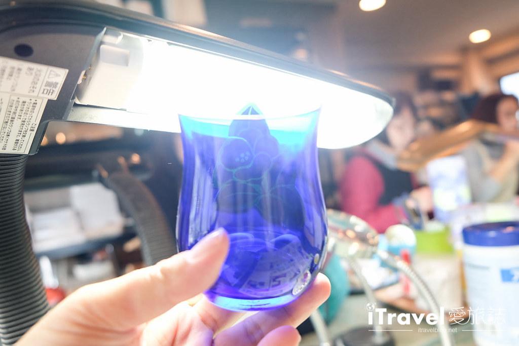 东京手作课程 喷砂玻璃工艺体验 26