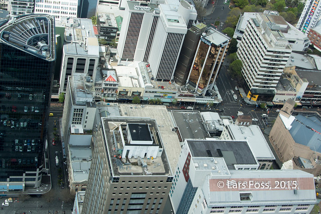 Marketing for businesses beside Sky Tower