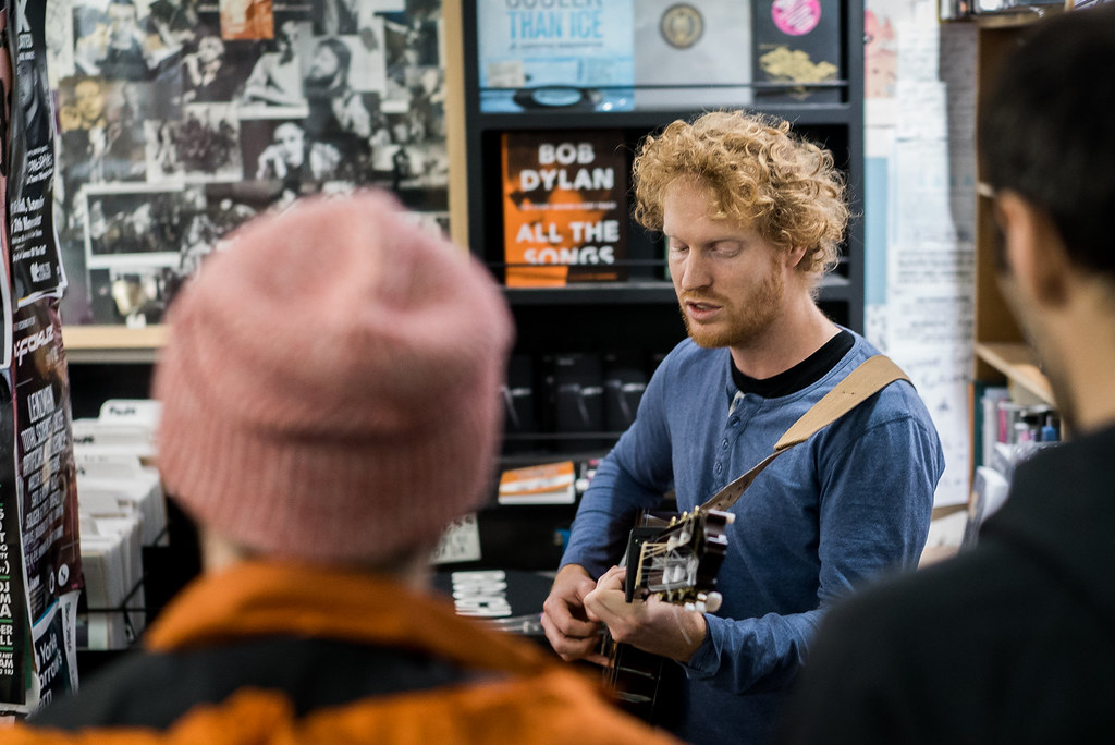Jono McCleery at Rough Trade