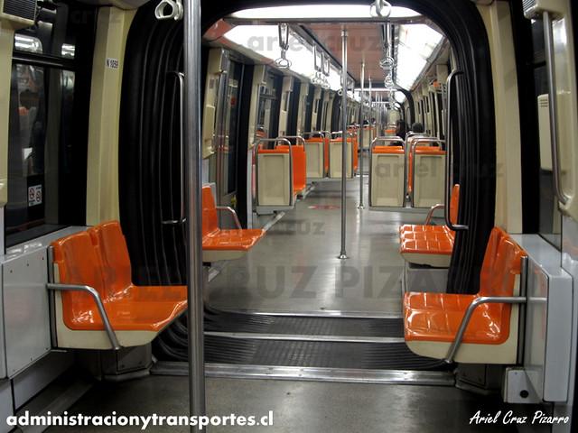 Metro de Santiago - Alstom NS93 N2059 - Quinta Normal (L5)