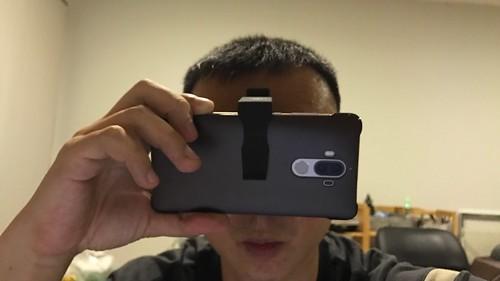 ลองใช้ Baseus VR มันจะออกมาแบบนี้ นี่รูปหน้าตรง