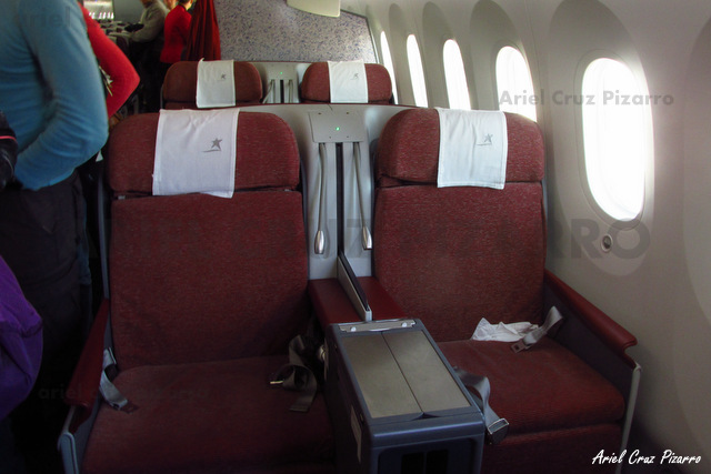 Premium Business | Boeing 787-8 Dreamliner de LAN