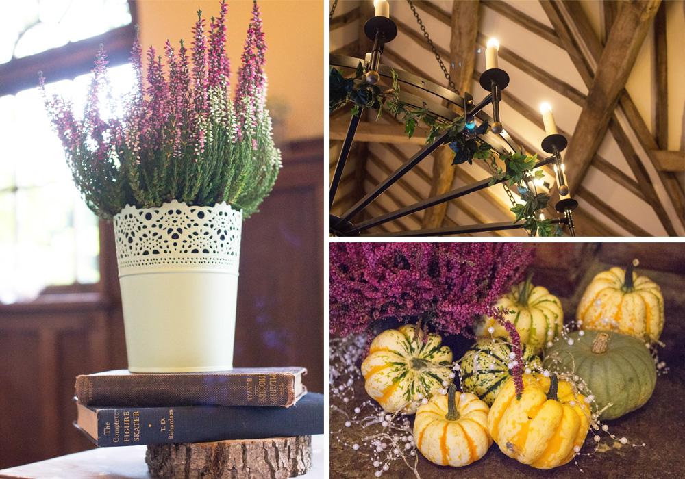 11 Table settings pumpkins chrissy and dan wedding