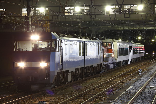 EH200-5 + DE10-1749 + Series 371 Transfer for Fuji-kyu