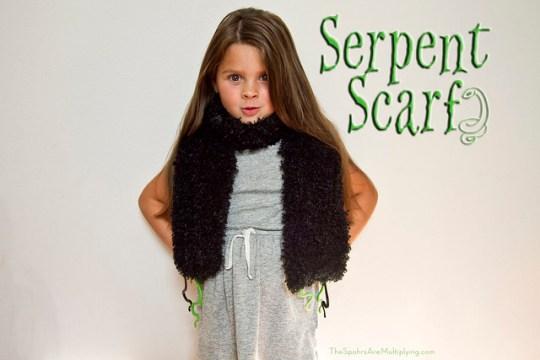 serpent scarf