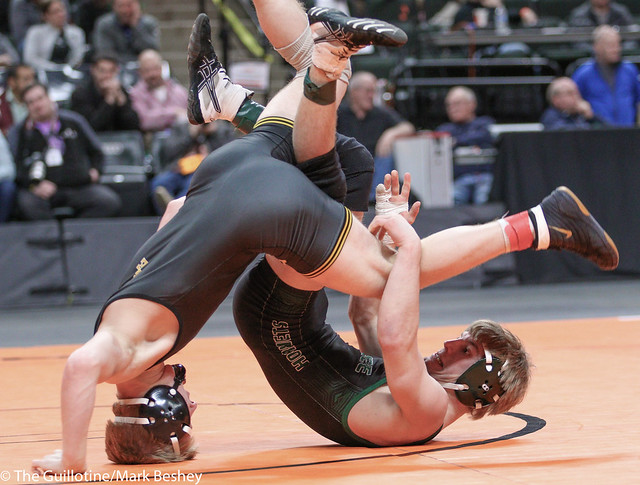 132A - 1st Place Match - Tanner Pasvogel (Sibley East) 40-2 won by decision over Tanner Reetz (Frazee) 41-1 (Dec 4-3)