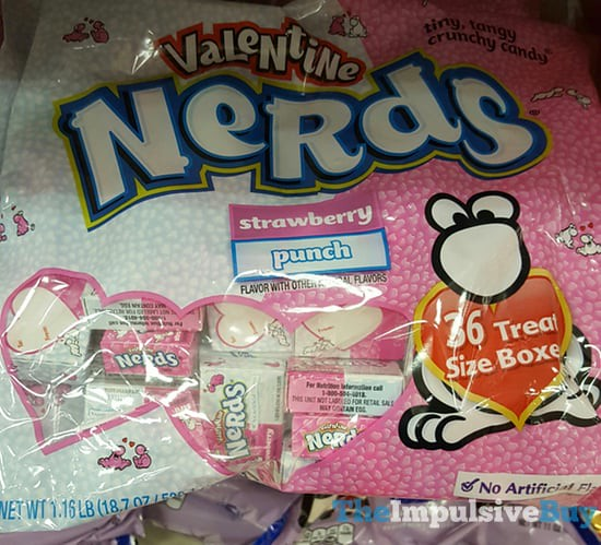 Valentine Nerds Strawberry and Punch