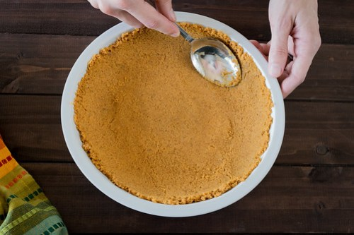 pressing in the crust