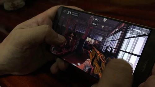 เล่นเกมบน Huawei Mate 9