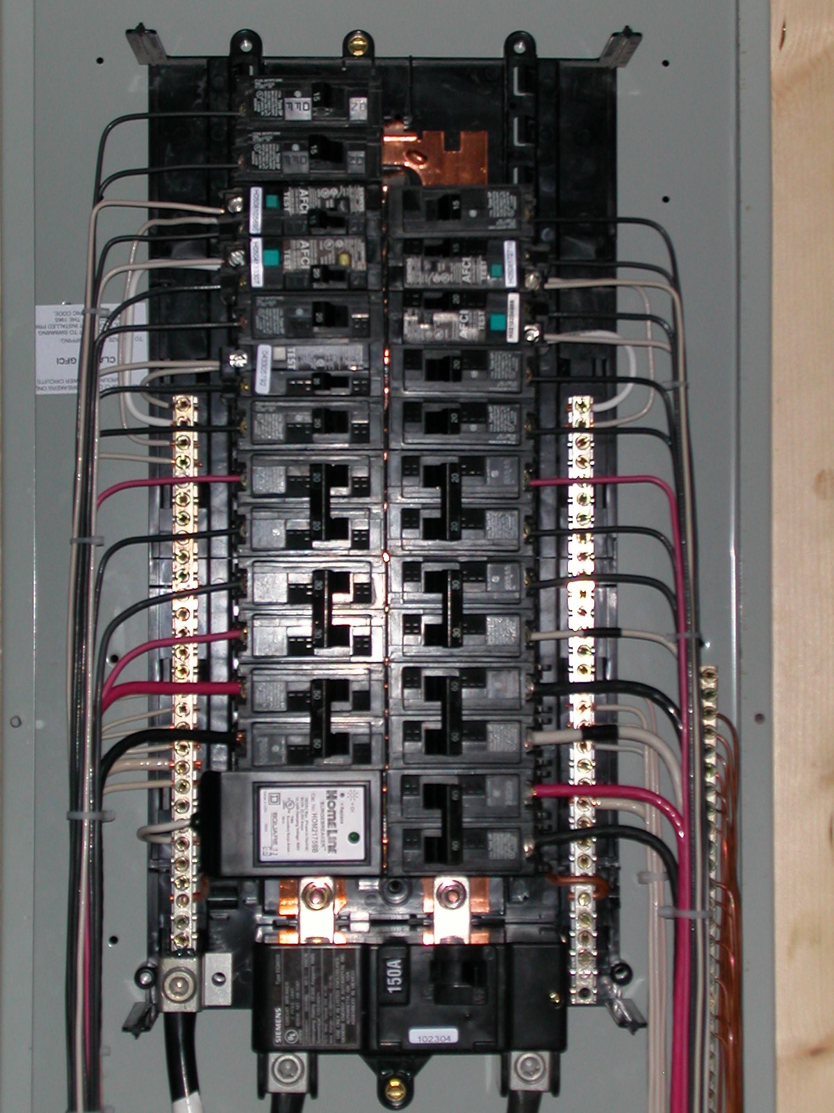 Gfci Circuit Breaker Wiring How To Wire A Gfci Breaker Spacarecom