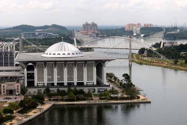 View of Putrajaya from Skyrides Balloon Ride