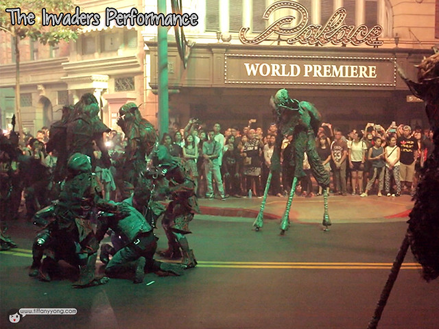 HHN5 The Invaders Performance