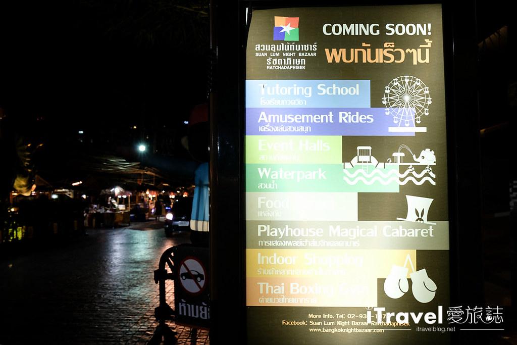 《曼谷夜市集景》新桑伦夜市:浓缩版泰国观光体验一条龙