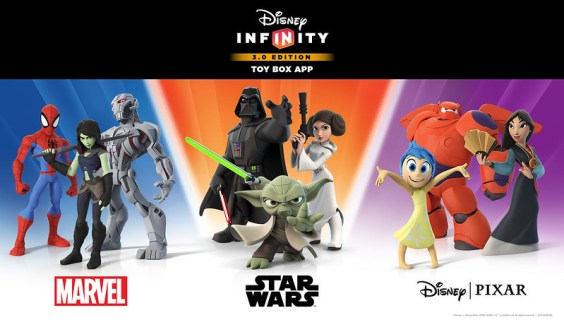Disney Infinity Toy Box 3.0 App Keyart