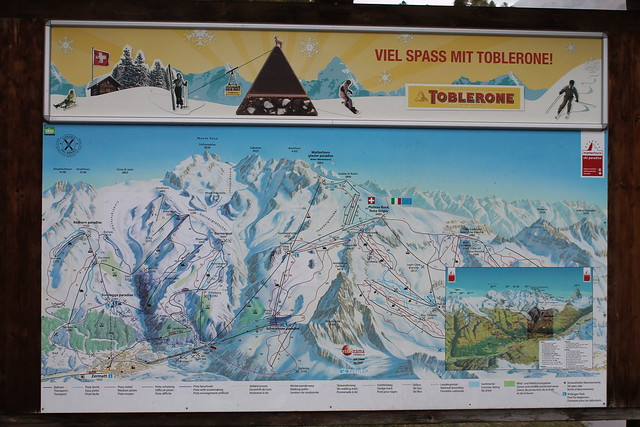 map metterhorn glacier paradise