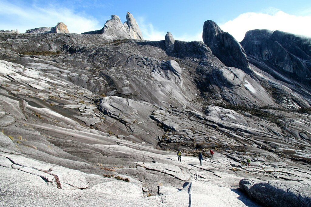 Mount Kinabalu after earthquake, Dec 1, 2015 by Murphy Ng. Chloe Tiffany Lee