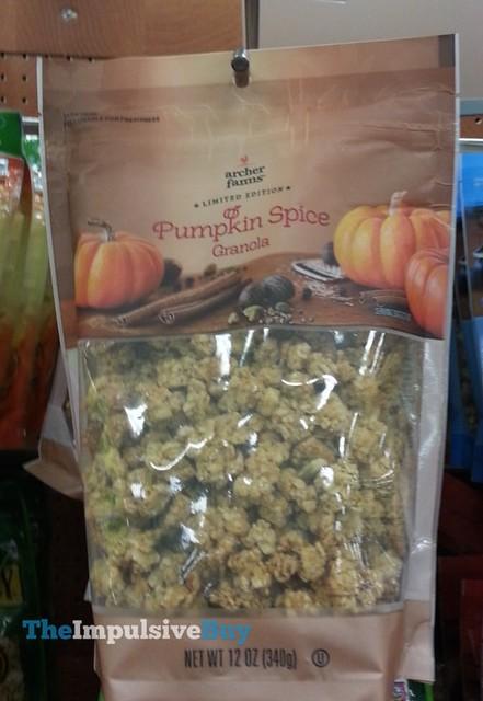 Archer Farms Limited Edition Pumpkin Spice Granola