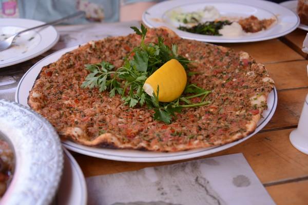 トルコのピザ