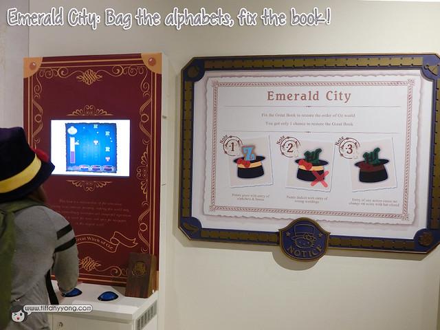 Hello Kitty in Oz Emerald City