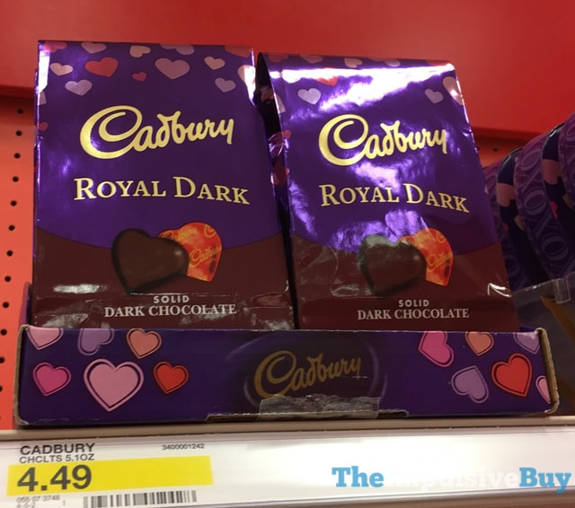 Cadbury Royal Dark Sold Dark Chocolate Hearts