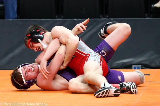 152A - Semifinal - Tyler Ryan (Kenyon-Wanamingo) 39-3 won by decision over Kelby O'Reilly (Goodhue) 32-5 (Dec 7-6)