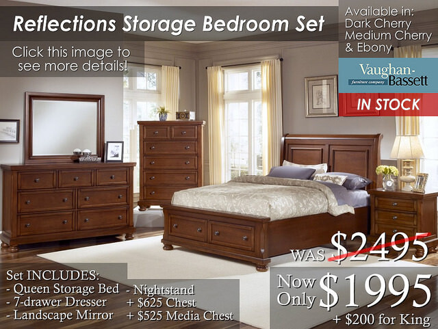 Reflections Storage in stock