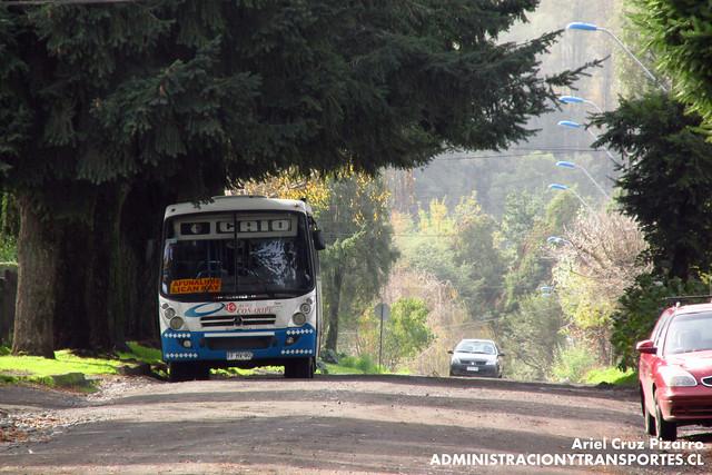 Buses Coñaripe - Lican Ray - Caio Foz / Mercedes Benz (FFHV90)