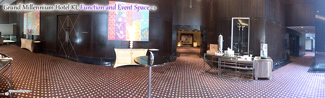 Grand Millennium KL Event Space Panorama